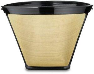 Medelco #4 Cone Permanent Coffee Filter