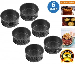 Wilton 2105-2174 Mini Springform Pan, Set of 6