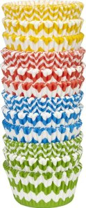 Wilton 415-2875 300 Count Chevron Pattern Baking Cups Value Pack