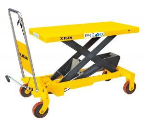 Xilin SP800 Hydraulic Scissor Lift Table-1760LBS Capacity-40 Max.Lift Height
