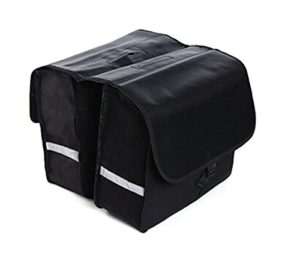 BicycleStore Waterproof 28L 600D MTB Mountain Road Bicycle Double Luggage Pannier Bag Bike Carrying Bag Black