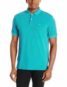 Dockers Men's Soda-Wash Pique Polo Shirt