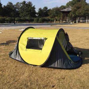 Ezyotudoor 86''x48''x39'' Beach Canopy Tent Ezyoutdoor Shade Shack Instant Pop Up Family Beach Tent and Sun Shelter Cabin Dome Tent