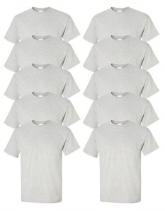 Gildan Men's Ultra Cotton T-Shirt (Pack of 10)