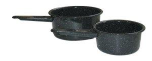Granite Ware 1- and 2-Quart Saucepan Set