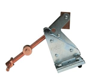 Kant Twist 411 Quick Acting Hold Down Clamp without Base Plate, 3 Holding Size, 2-14 Length x 2-1116 Width, 1500 lbs Holding Capacity