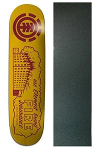 ELEMENT Skateboard Deck FAMILY BUSINESS FIRE 8.0 with GRIPTAPE