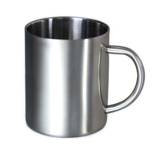 Housavvy Stainless Steel Coffee Mugs Cappuccino Cups Tea Cup Double Wall Food Grade Durable Safe