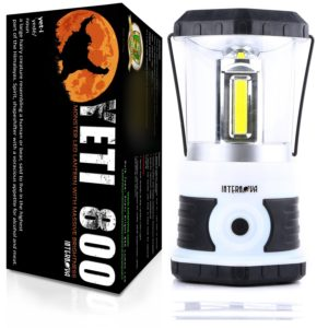 Internova Yeti 800 Monster LED Camping and Emergency Lantern - Massive Brightness with Tri-Strip Light Available