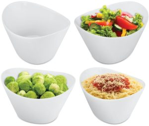 KOVOT 4 Piece Porcelain Serving Bowl Set