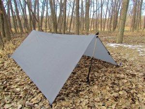 LiteOutdoors Silnylon Tarp - Light Weight, Compact, Waterproof, Durable