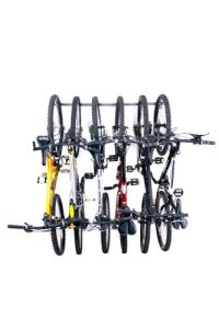 Monkey Bars Wall Bike Storage Rack (Holds 6 Bikes)