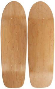 Moose Old School Skateboard Deck (10 x 33, Natural)