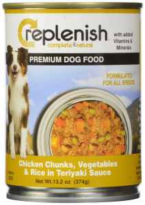 Replenish Canned Dog Food, Beef Chunks W Vegtables (Pack of 12 13.2-Ounce Cans)