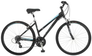 Schwinn Women's Mica 2.0 Hybrid Bike, Black, 16-InchSmall