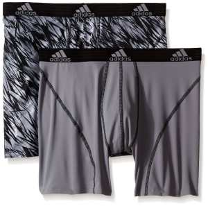 adidas Men's Sport Performance Climalite Boxer Brief Underwear (2-Pack)