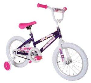 Dynacraft Magna Starburst Girl's Bike (16-Inch, PurpleWhitePink)