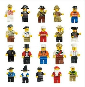 Generic Men People Minifigures Toy (Lot of 20)
