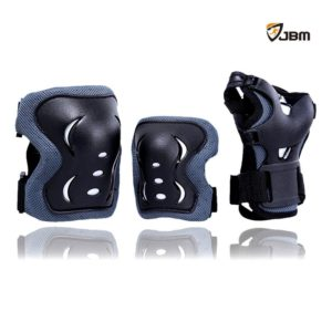 JBM® Popular Sports Protective Gear for Childkid Safety Pads Safeguard Knee + Elbow + Wrist Pads Set Equipment for Roller Bicycle BMX Bike Skateboard Extreme Sports Bogu Protector
