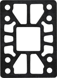 Khiro Hard Riser Set 12 Taper Wall Black Skateboarding Risers Pads