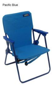 Kids Folding Backpack Beach Chair (Pacific Blue)