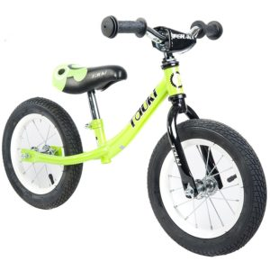 Tauki Kid Balance Bike No Pedal Push Bicycle, 12 Inch, for 18 Months-5 Years Old