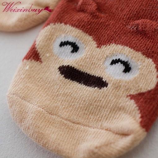 Chaussettes Bébé / Petit Enfant Oreilles en Coton 4