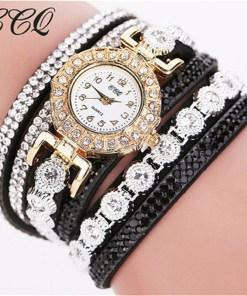 Très Belle Montre Bracelet Pour Dames Avec Strass 4