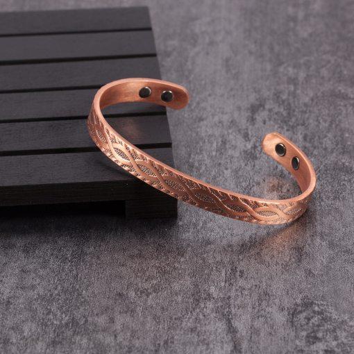 Bracelet Magnétique Cuivre Pour Homme ou Femme 2
