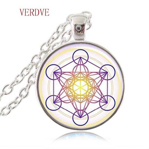 Pendentif Fleur de Vie - Chakra - Hexagramme Magique 5