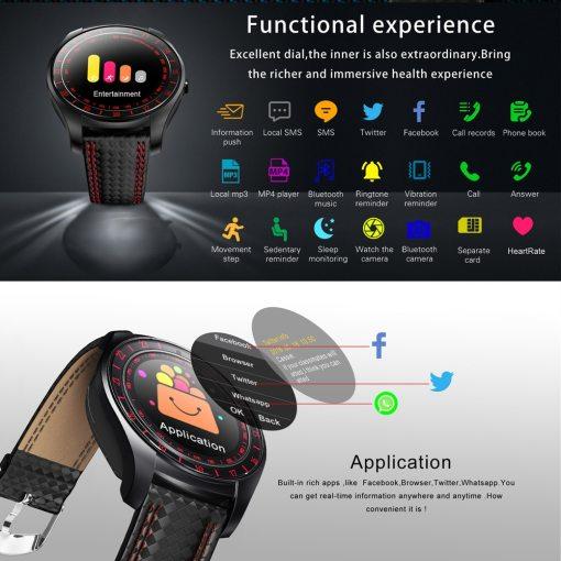 Smartwatch Beseneur Pour Homme 3