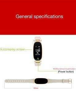 Smartwatch Élégante et Discrète 5