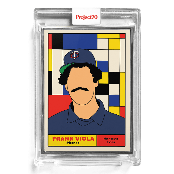 Topps Project70® Card 158 -  1961 Frank Viola by Fucci  - Artist Proof # to 51