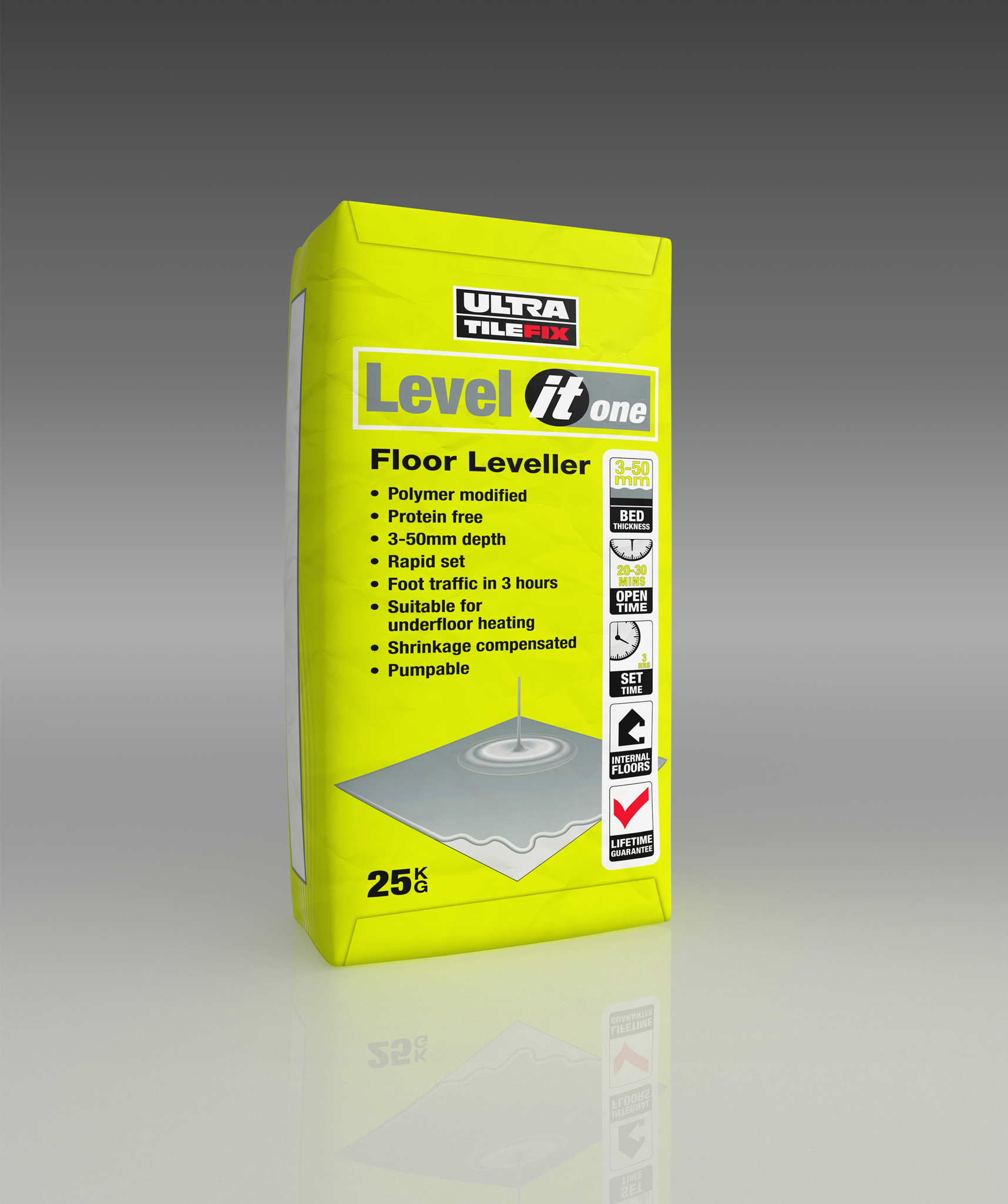 ultra level it one self levelling compound 25kg