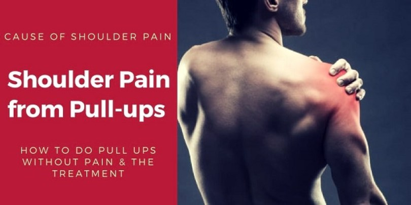 Shoulder Pain from Pull ups