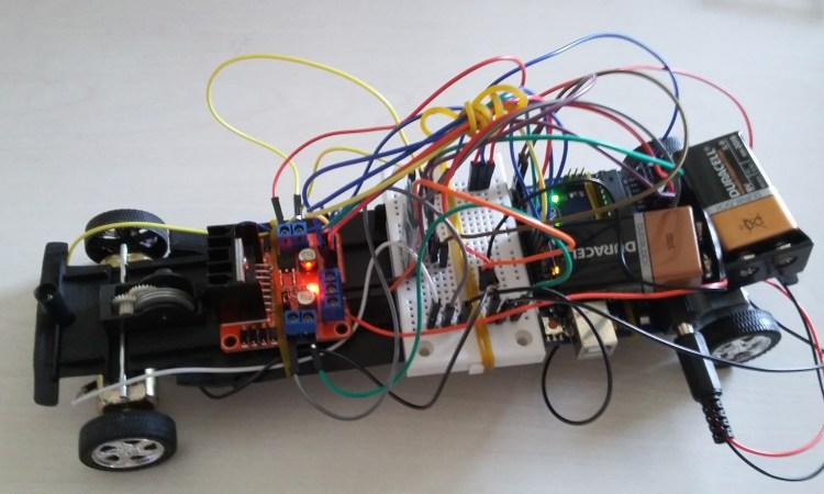 Arduino İle bluetooth kontrollü uzaktan kumandalı araba