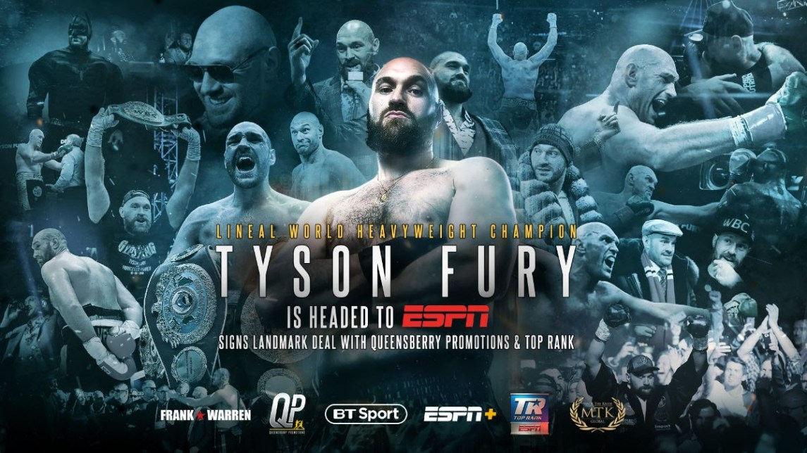 Tyson Fury Inks Co-Promotional Deal With Top Rank/Espn &Ndash; Top Rank Boxing