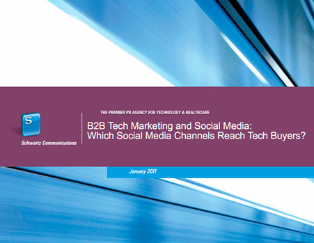 B2B Technology & Social Media Report