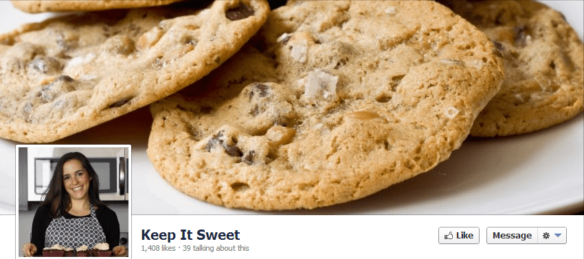 Keep It Sweet Desserts Facebook page - attracting fans by consistently delivering awesome