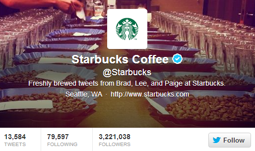 Starbucks Coffee on Twitter: Attract, Engage, Convert