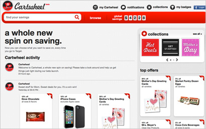 Target and Facebook Cartwheel program combines mobile, social, retail