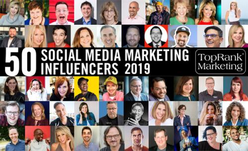 2019 TopRank Marketing Social Media Marketing Influencers