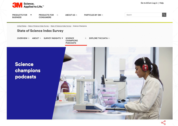 3M Science Champions Podcast Image