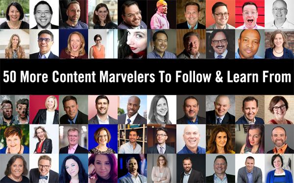 50 Content Marvelers Image