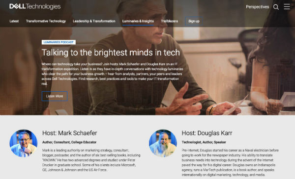 Dell Technologies Influencer Marketing Example