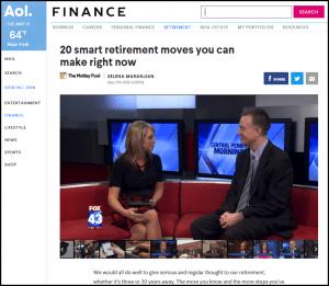 AOL finance