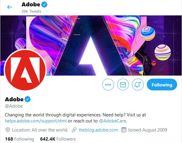Adobe Twitter Image