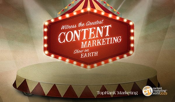 The Greatest Content Marketing Show on Earth