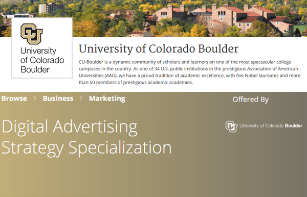University of Colorado Screenshot Image