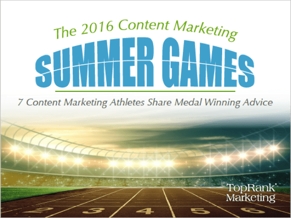 Content Marketing Summer Games Cover Image